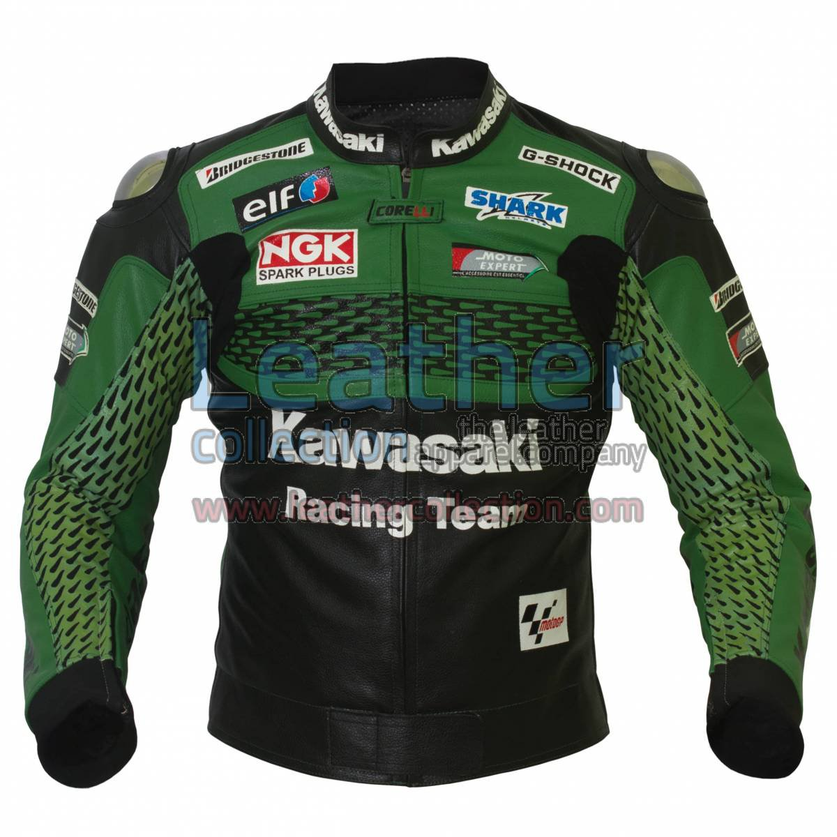 Kawasaki Racing Team Leather Jacket