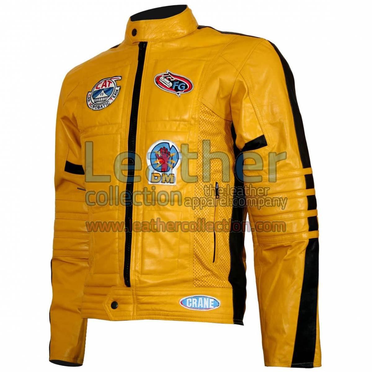 Kill Bill Movie Women Leather Jacket