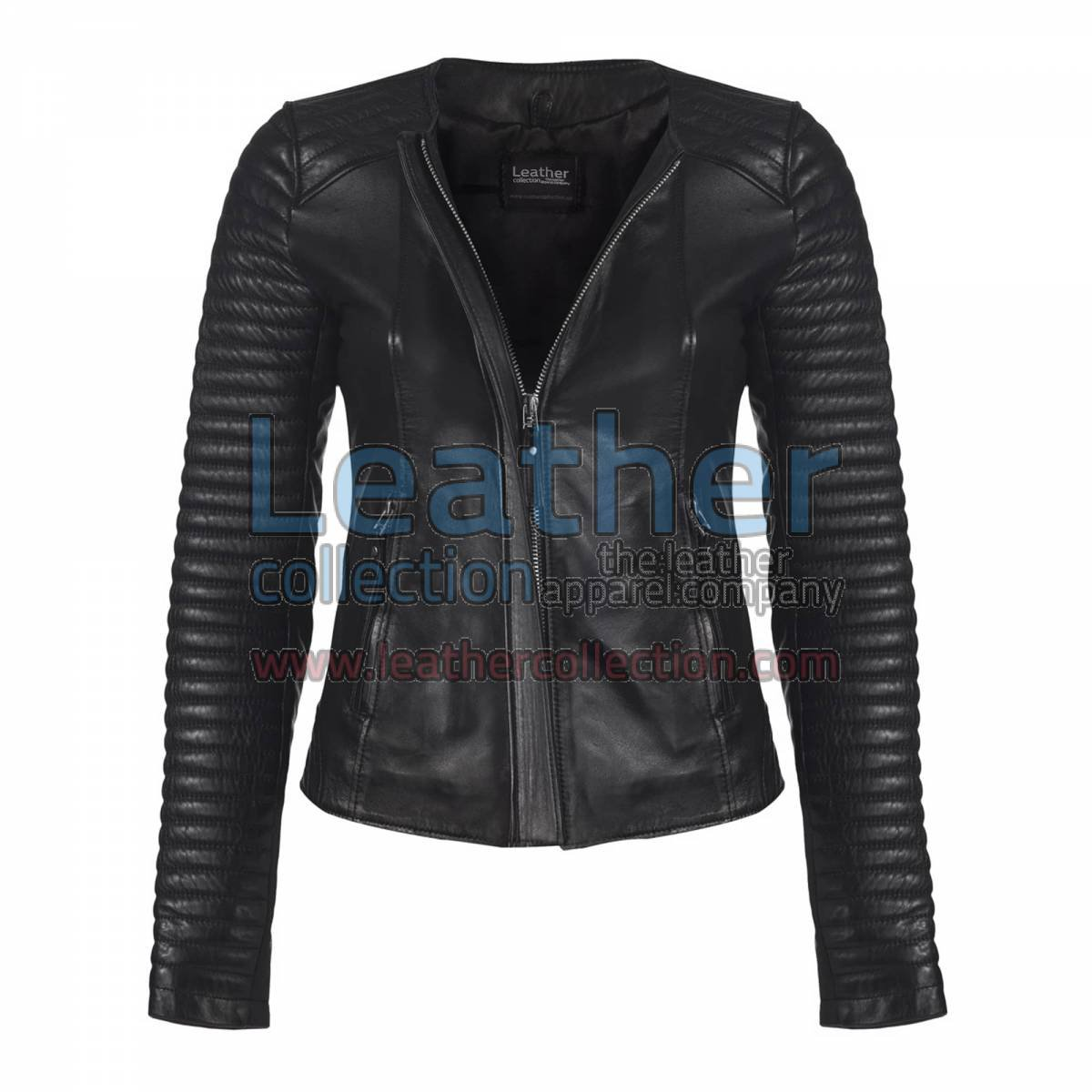 Ladies Legacy Leather Jacket Black