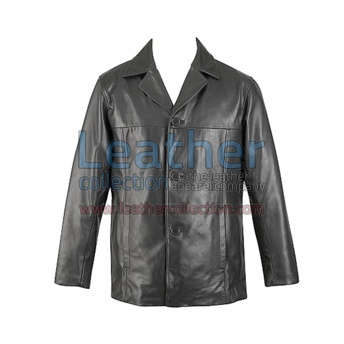 Lamb Leather Zip Out Thinsulate Liner Jacket