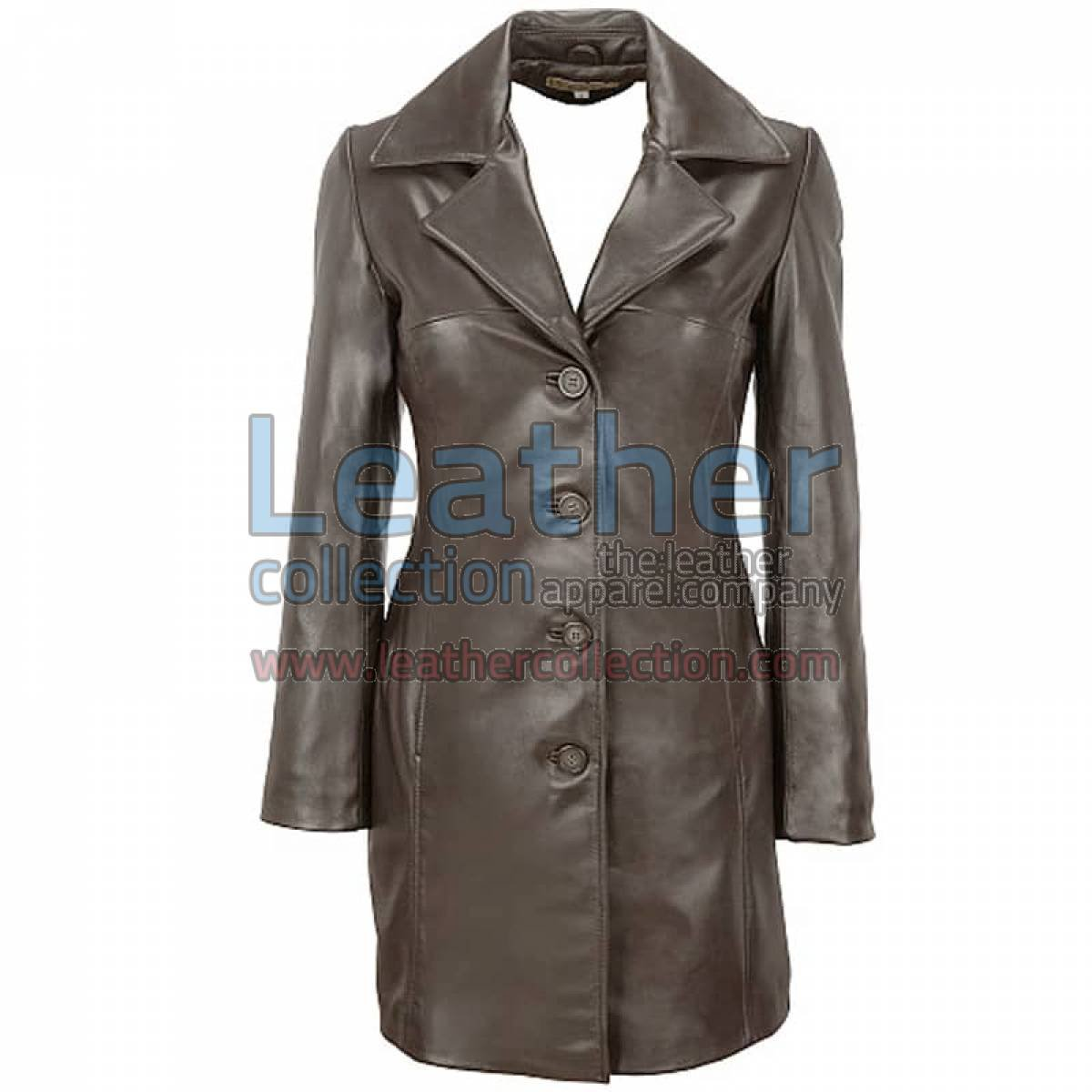Lamb Trench Coat with Thinsulate Lining