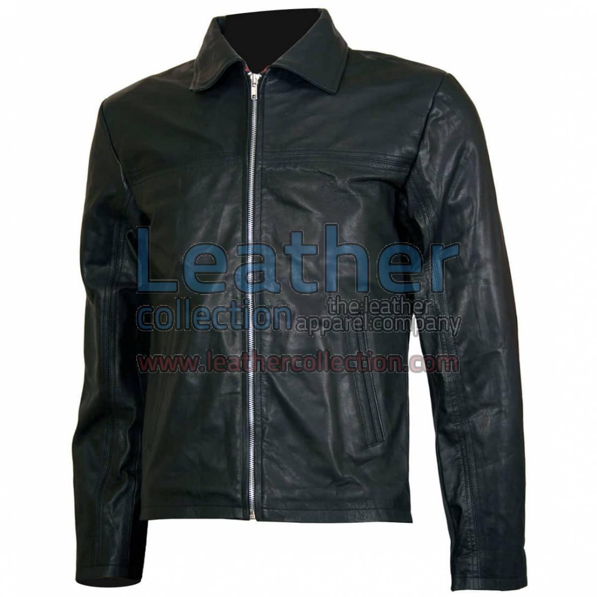 Layer Cake Biker Leather Jacket