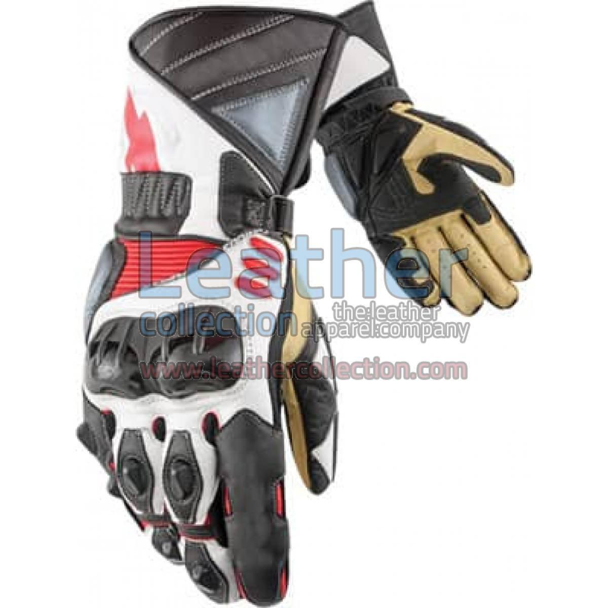 Legend Biker Leather Gloves