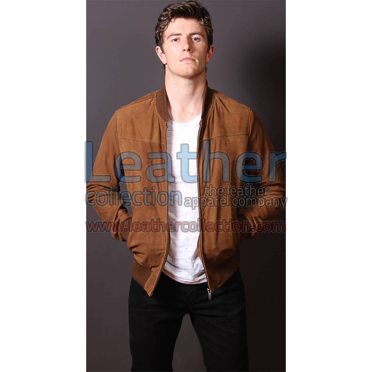 London Leather Jacket Men