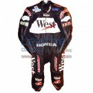 Loris Capirossi Honda GP 2001 Motorcycle Leathers
