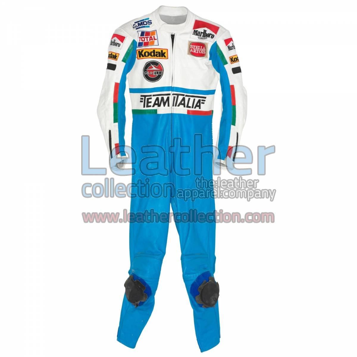 Luca Cadalora Garelli GP 1986 Motorcycle Suit