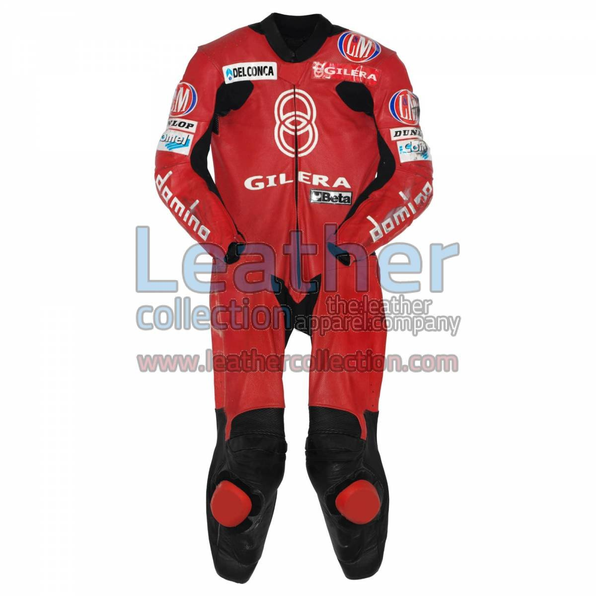 Manuel Poggiali Gilera Motorcycle Race Suit GP 2001