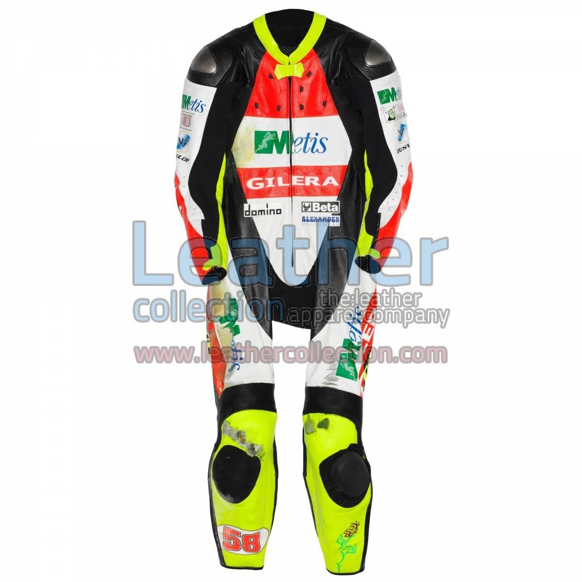 Marco Simoncelli Gilera GP 2007 Leather Suit