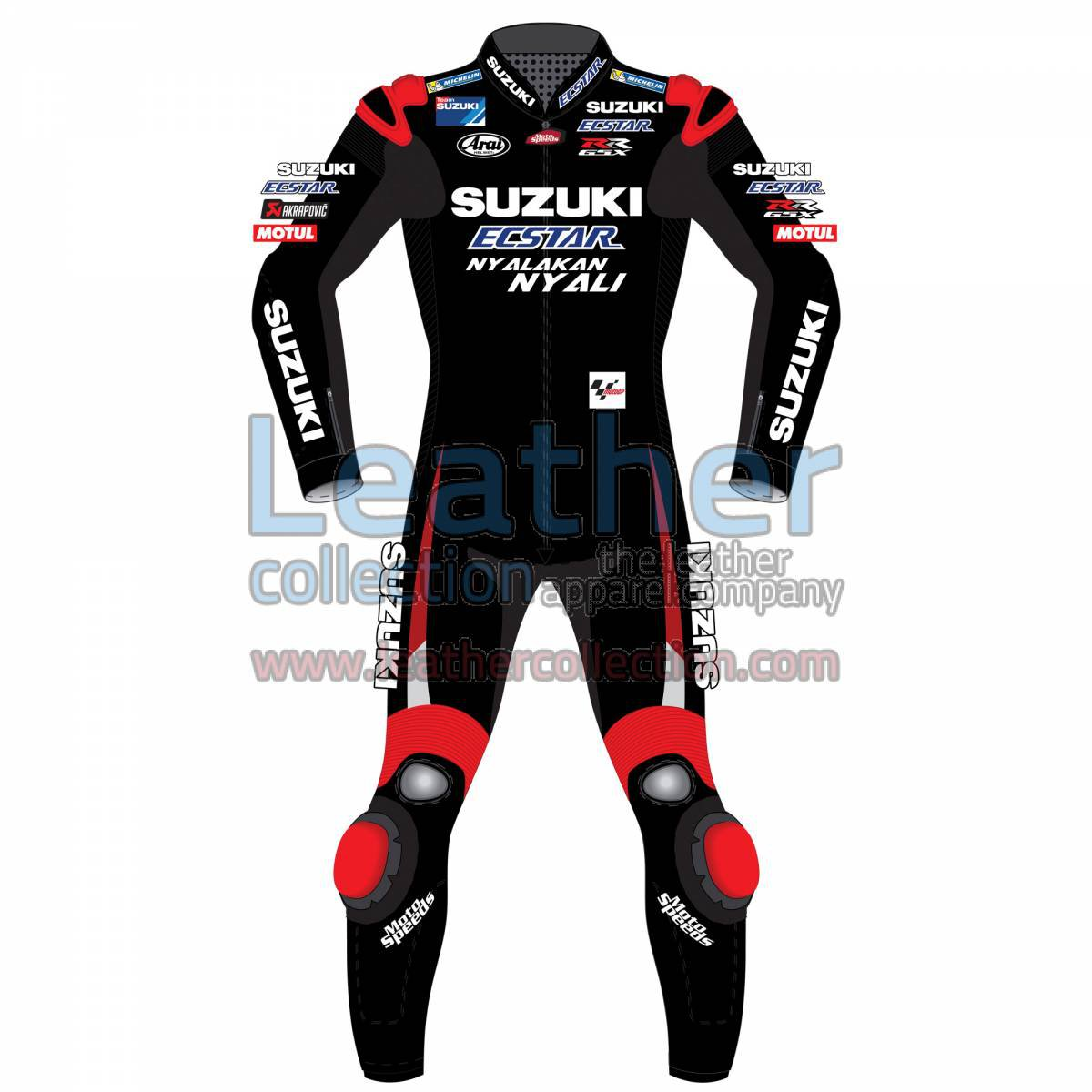 Maverick Vinales Suzuki MotoGP 2016 Leather Suit
