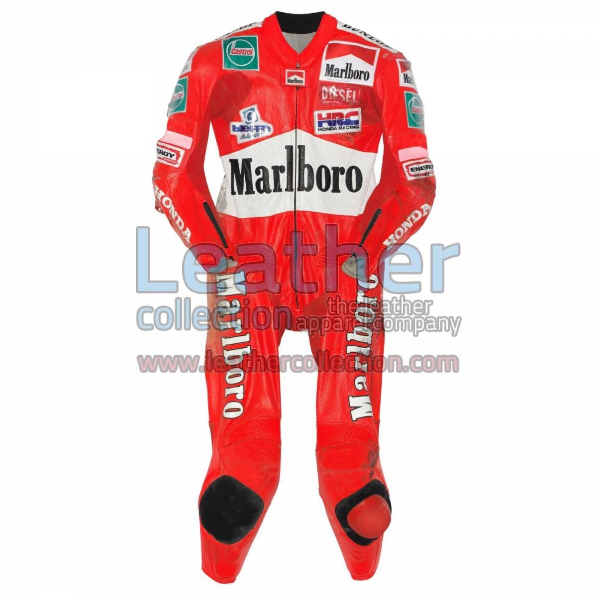 Max Biaggi Honda GP 1997 Leathers