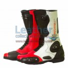 MV Agusta Leather Biker Boots