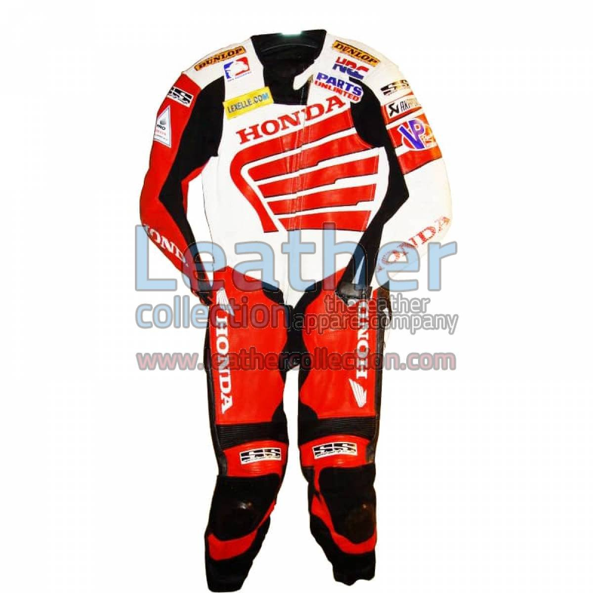 Neil Hodgson Honda AMA 2008 Leather Suit