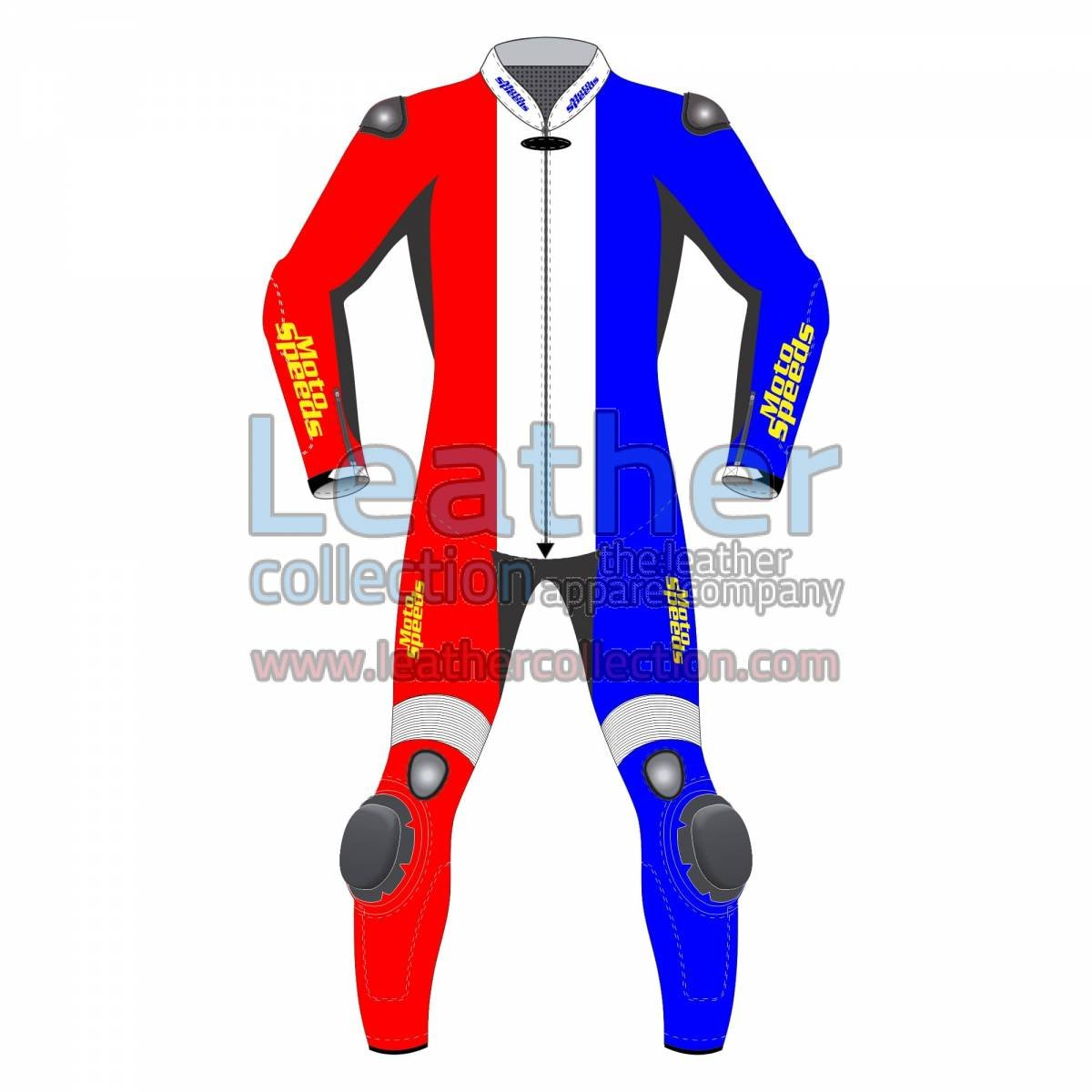 Netherlands Flag Moto Leather Suit