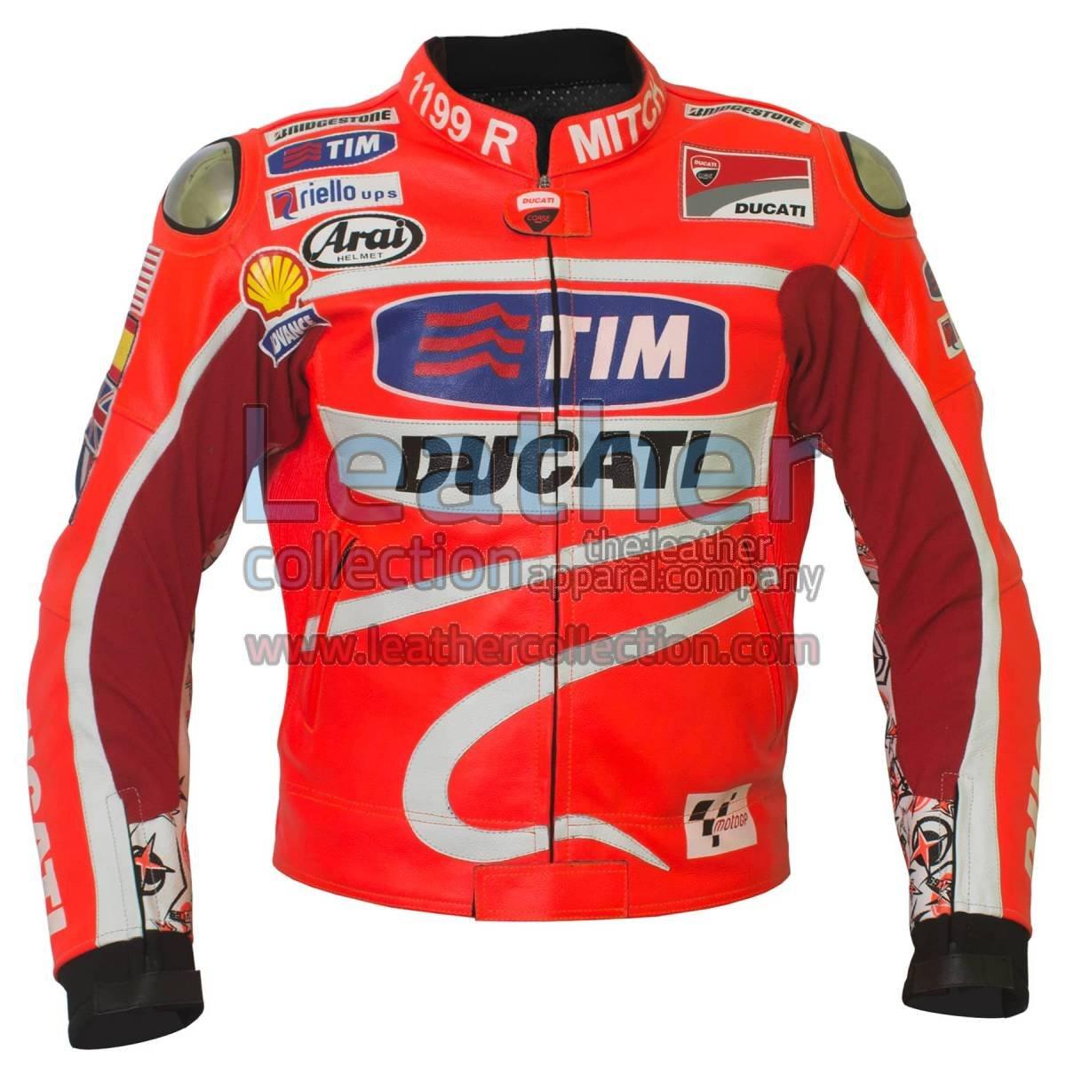Nicky Hayden 2013 MotoGP Ducati Leather Jacket