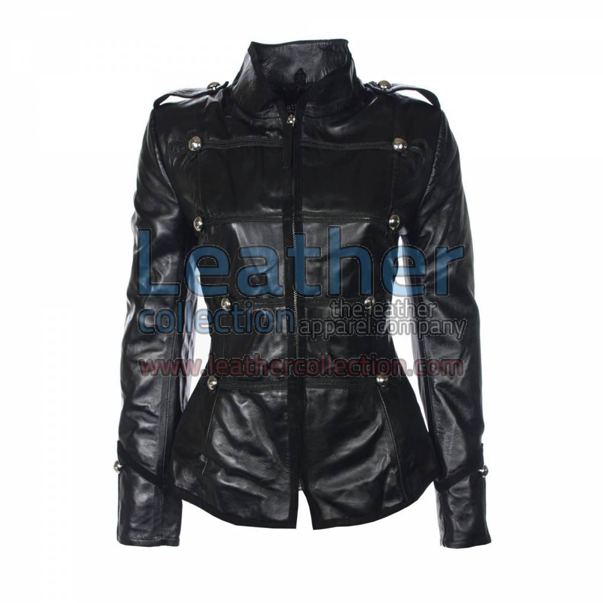 Princess Military Leather Jacket