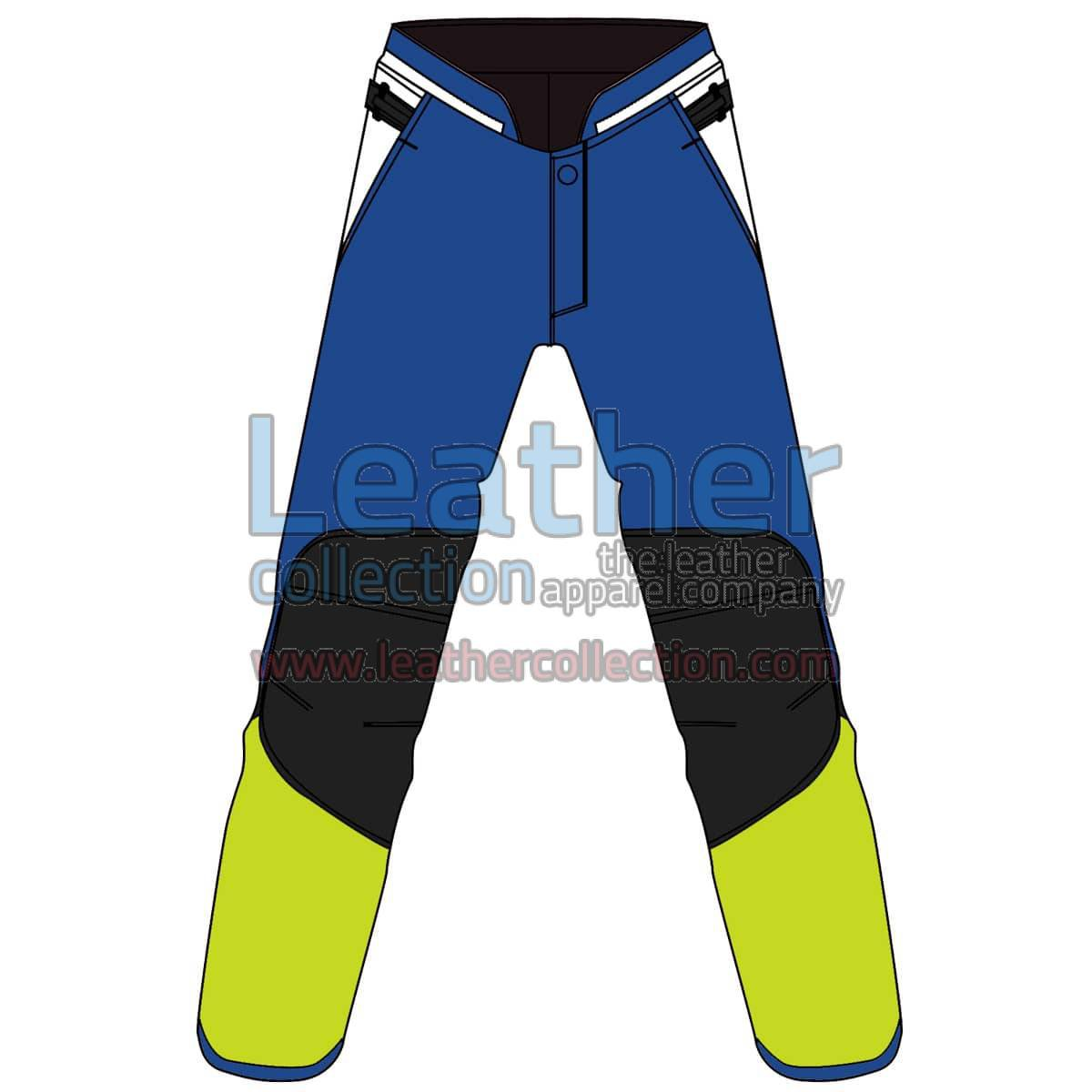 Quad Color Motorbike Leather Pant For Women