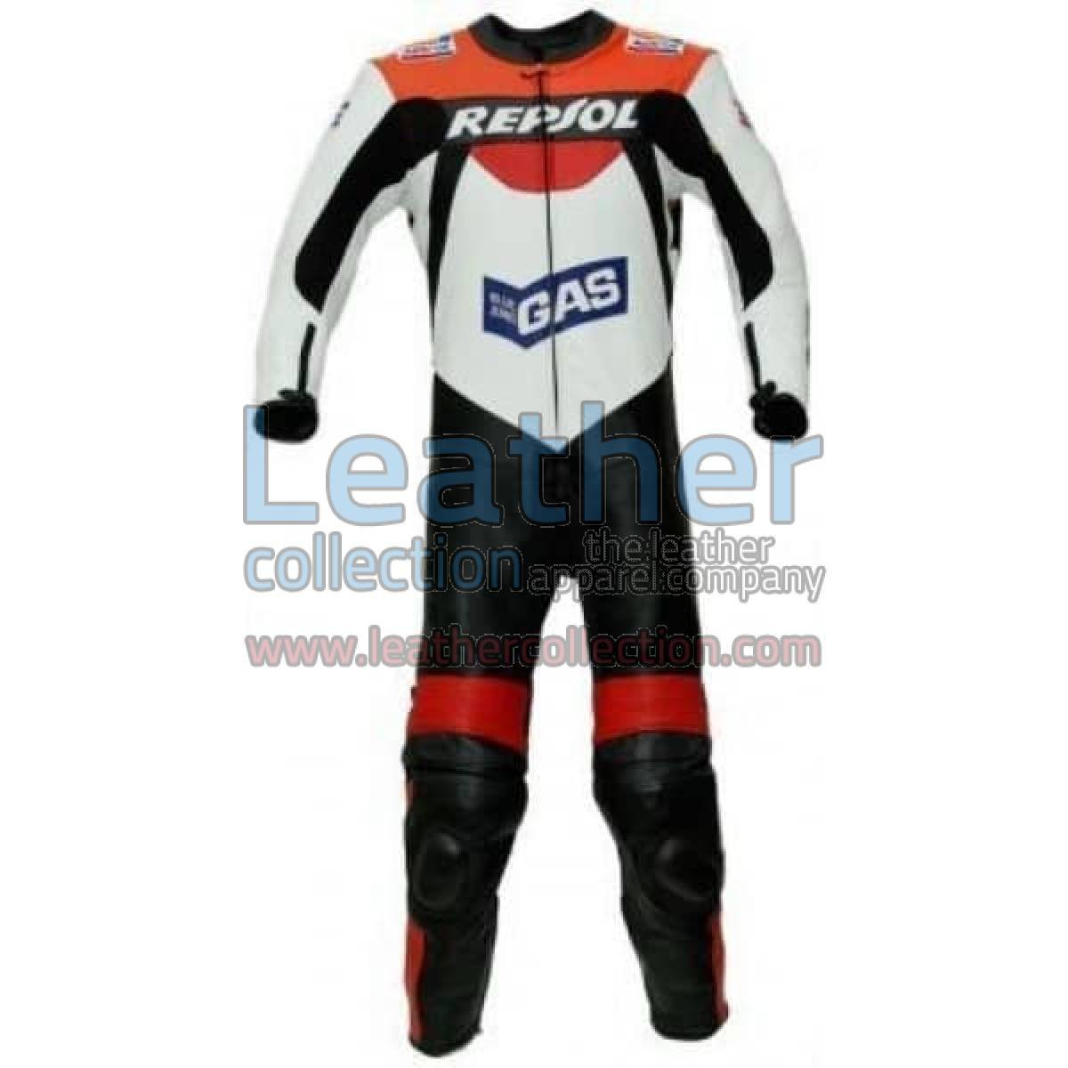 Repsol Gas Racing Leather Suit
