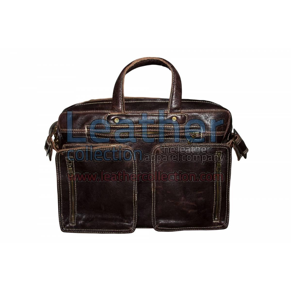 Retro Leather Laptop Bag