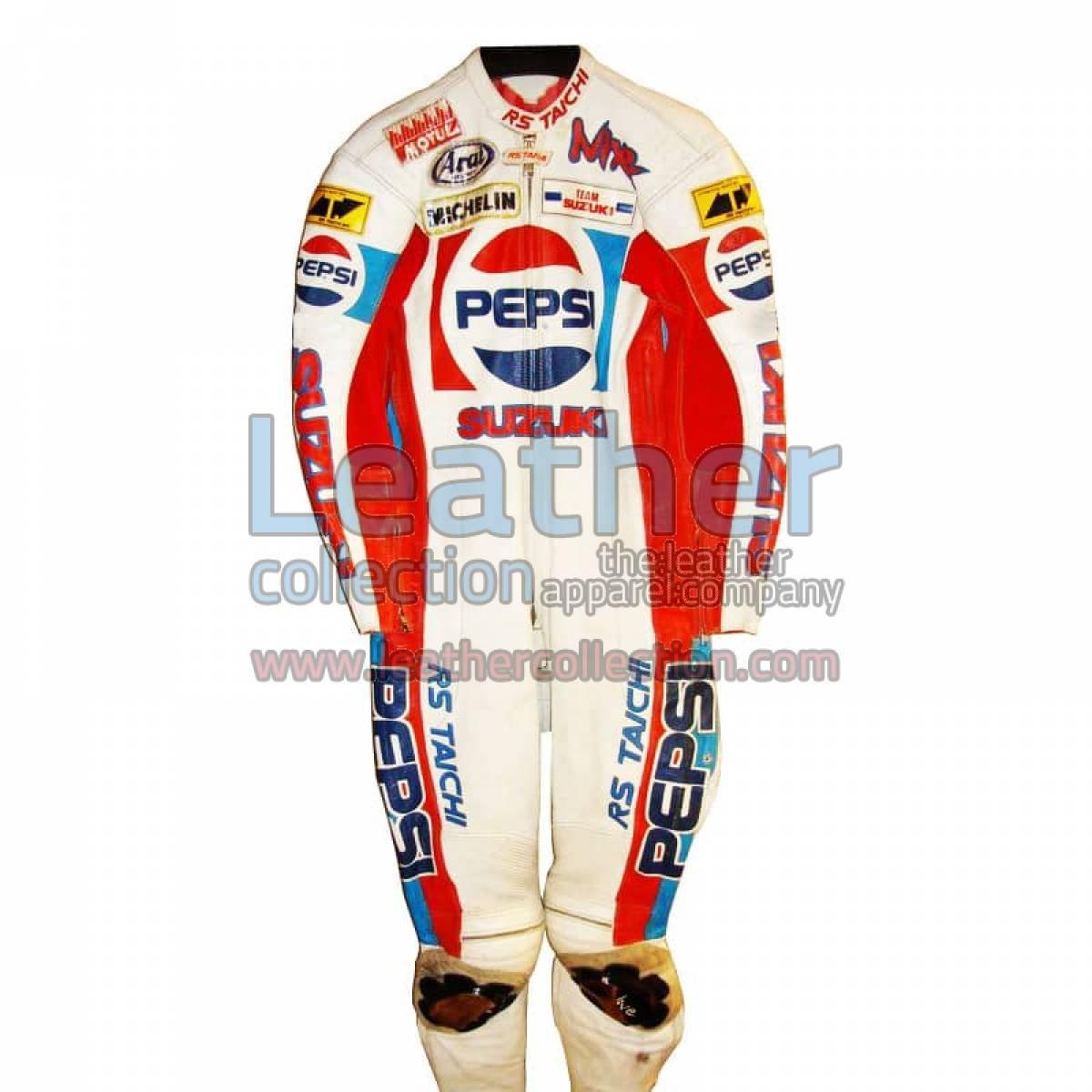 Rob McElnea Pepsi Suzuki GP 1988 Racing Leathers