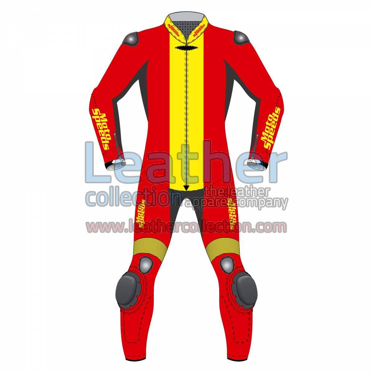 Spain Flag Moto Race Suit