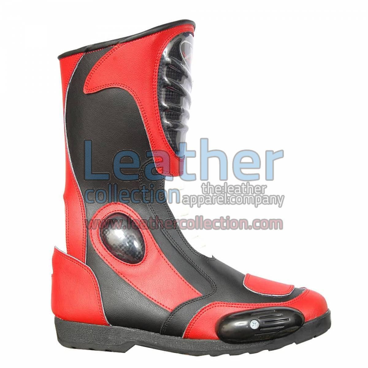 Supreme Leather Motorbike Boots