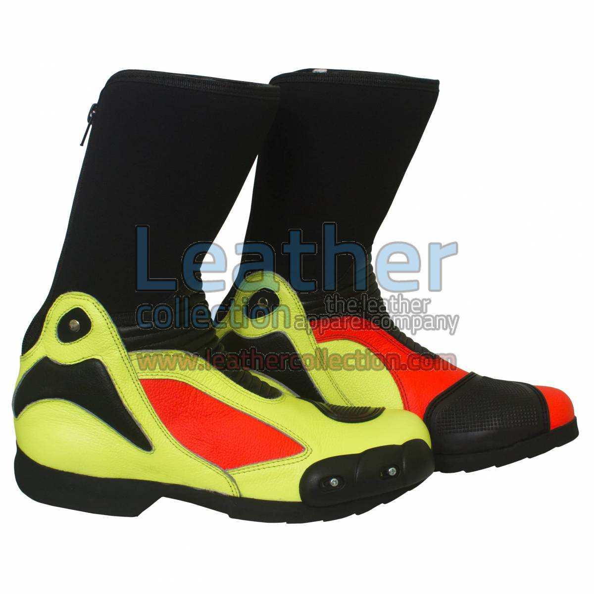 Valentino Rossi 2011 Leather Biker Boots