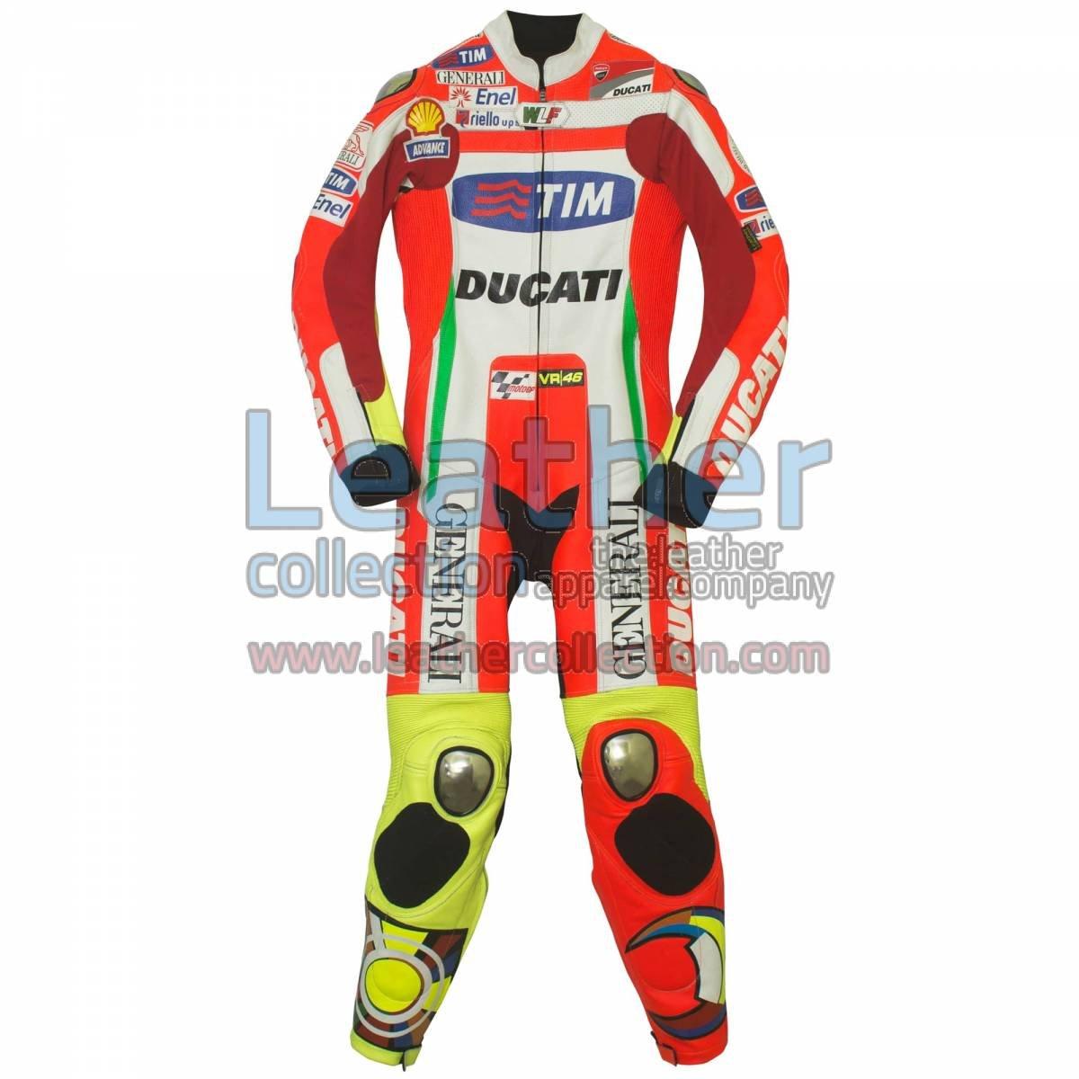 Valentino Rossi Ducati MotoGP 2012 Leathers