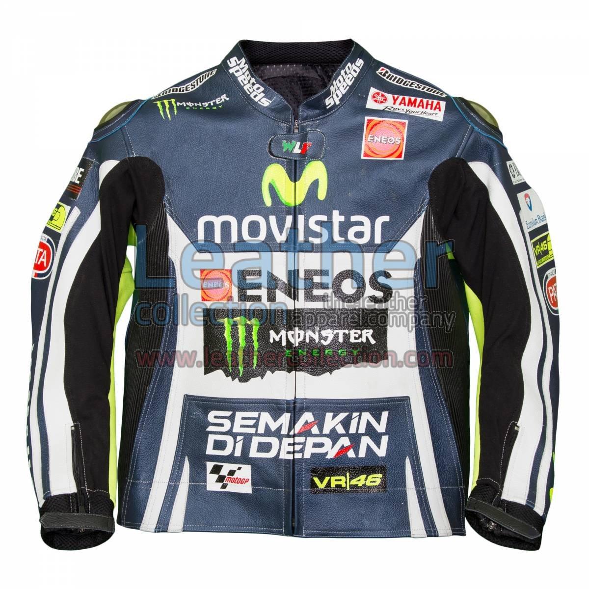 Valentino Rossi Movistar Yamaha M1 Leather Jacket