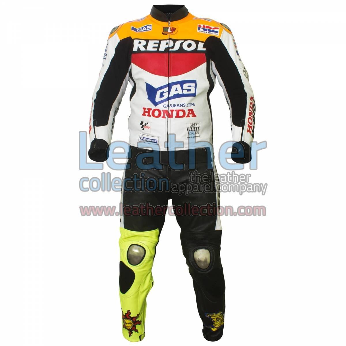 Valentino Rossi Repsol Honda MotoGP 2003 Leathers