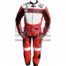 Yamaha Motorbike Leather Suit Red/White