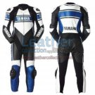Yamaha Motorcycle Leather Suit Blue