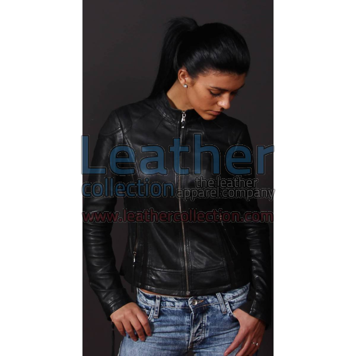 Women Leather Adore jacket