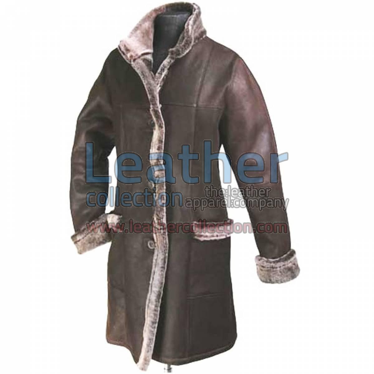 Women Long Coat With Fur Lining