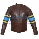 X-MEN Wolverine Origins Biker Leather Jacket