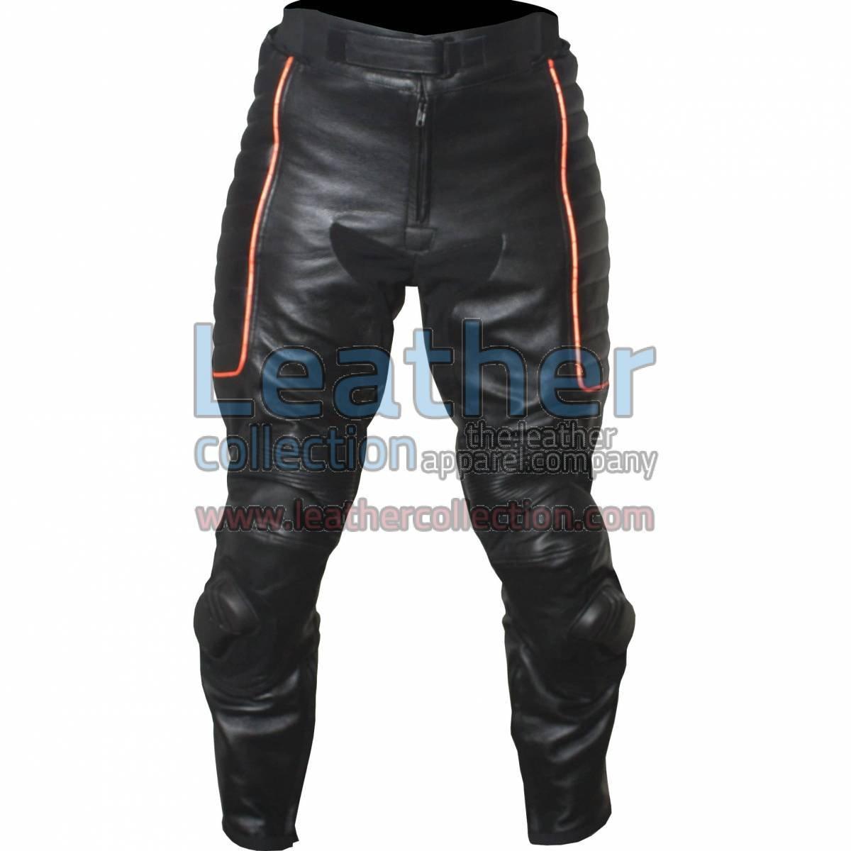 X-MEN Motorbike Leather Pants