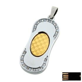 Special Round Rectangle Jewelry USB Flash Drive(8GB)