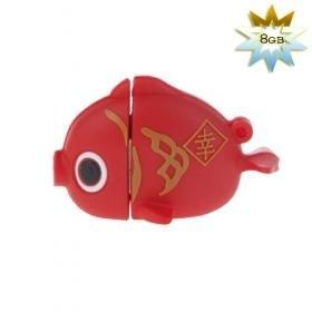 Goldfish Shaped USB 2.0 Flash/Jump Drive (8GB)