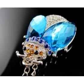 Crystal Beetle Blue 8G