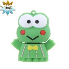 Cute Frog USB 2.0 Flash/Jump Driver(8GB)