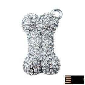 Doggy Bone Jewelry USB Flash Drive(8GB)
