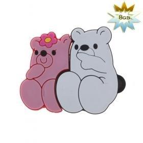 Cute Bear USB 2.0 Flash/Jump Drive (8GB)