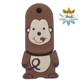 """""""Cute Monkey USB 2.0 Flash/Jump Drive (8GB)"""