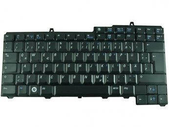 Dell Inspiron 640M Keyboard German Version Black