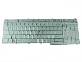 Toshiba L550 Keyboard Silver
