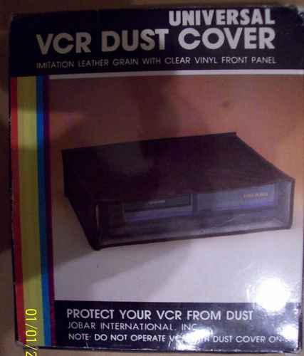 Universal Vcr Dvd Stereo Dust Cover