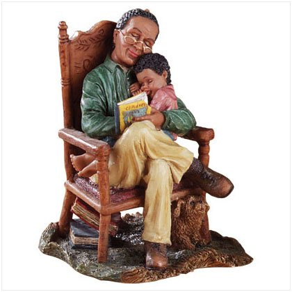 Alab Grandfather and Child