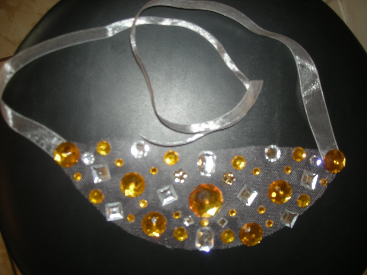 Rhinestones necklace