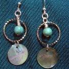 Turquoise/Shell Earrings