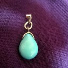Small Turquoise Drop Pendant