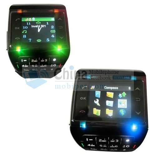 S16 Cell Phone - Quad Band Bluetooth Compass Touch Screen Watch